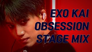 엑소 카이(EXO KAI) OBSESSION 직캠 교차편집(Stage Mix)