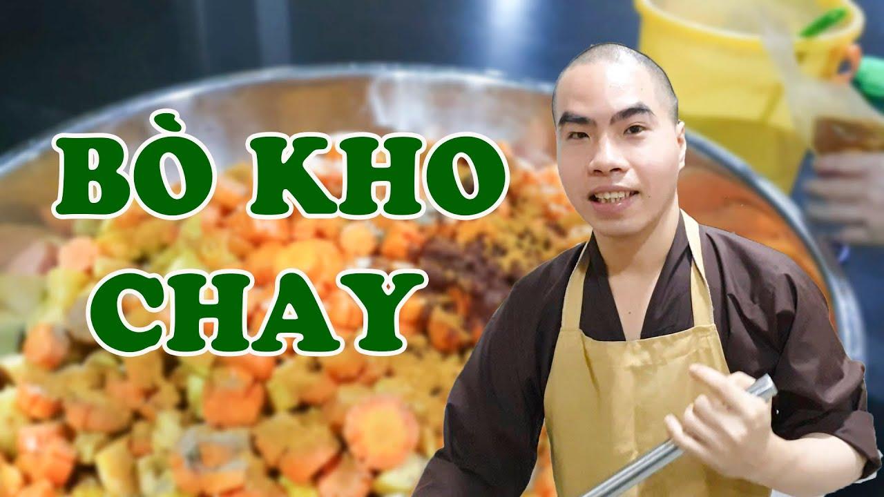 Sư Thầy Trổ Tài Nấu Bò Kho Chay Bánh Mì Ngon Bá Cháy | Hoang Phap Temple