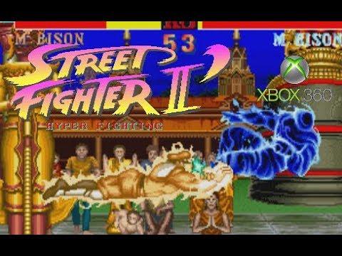 Street Fighter II' Hyper Fighting Playthrough (Xbox 360)