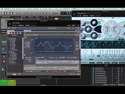 Logic X, Numerology und Ableton Push - echter Step Sequencer in den MIDI-FX