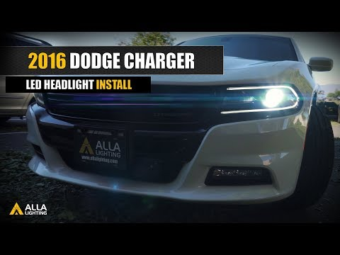 How To Replace | Upgrade 2016-2020 Dodge Charger LED Headlights Bulbs?