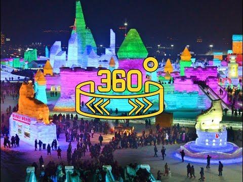 360 WION : China Harbin Ice Festival 2017