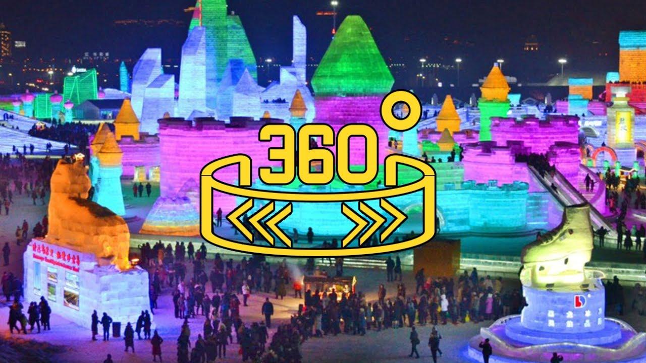 360 Wion China Harbin Ice Festival 2017
