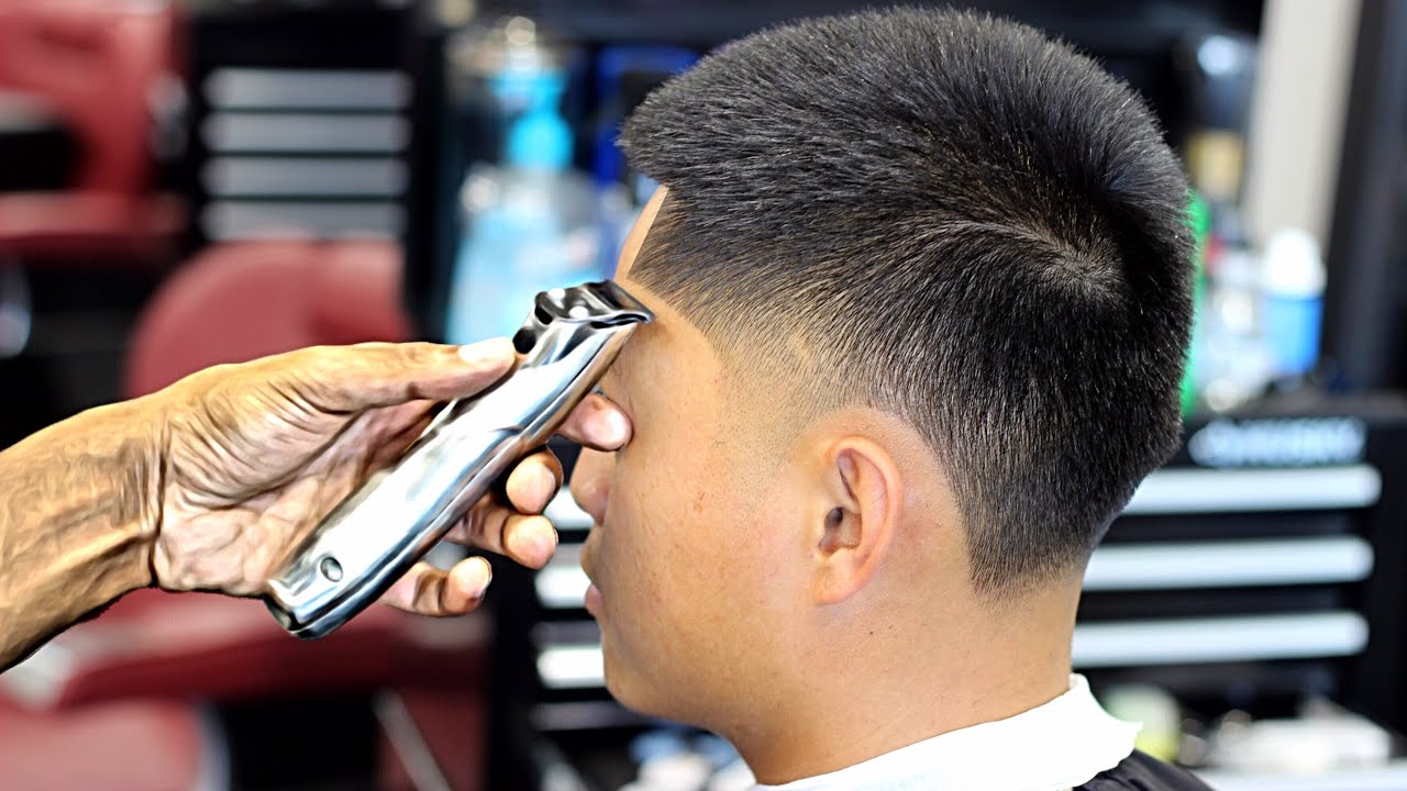 Haircut Tutorial On How To Cut A Burst Taper Hd Youtube