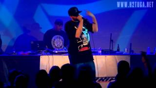 "Demigodz (Apathy e Celph Titled) - ""Demigodz is Back"" no Hard Club, Porto, 15/03/2013 