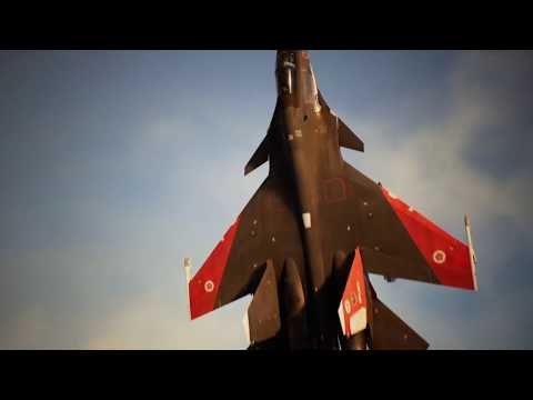 Ace Combat 7 Skies Unknown - Trigger vs Mister X & Sol Squadron at The Battle of Farbanti