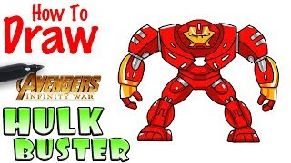 How to Draw Hulkbuster | Avengers Infinity War