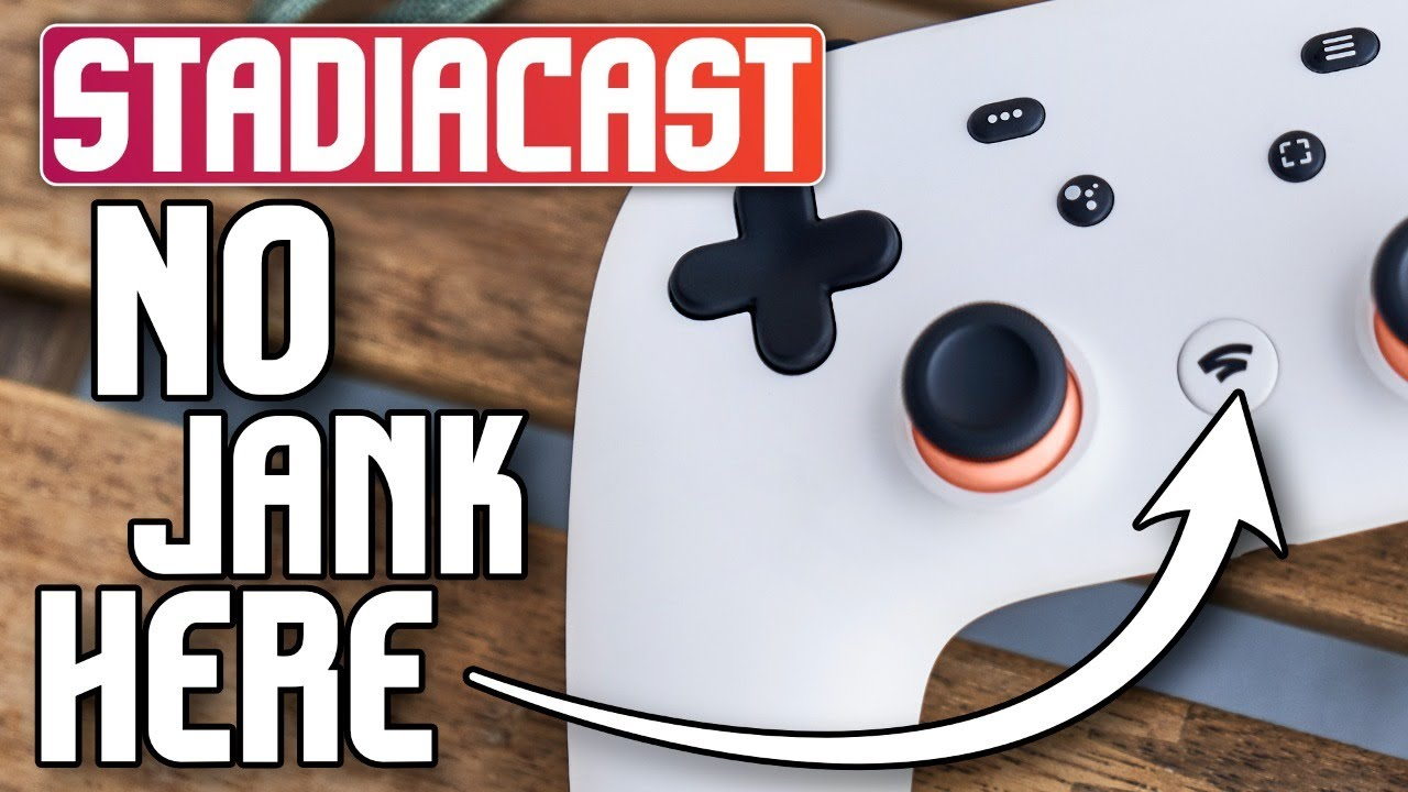"""🔴 Live - Stadia cuts down on the """"Jank"""" in games 