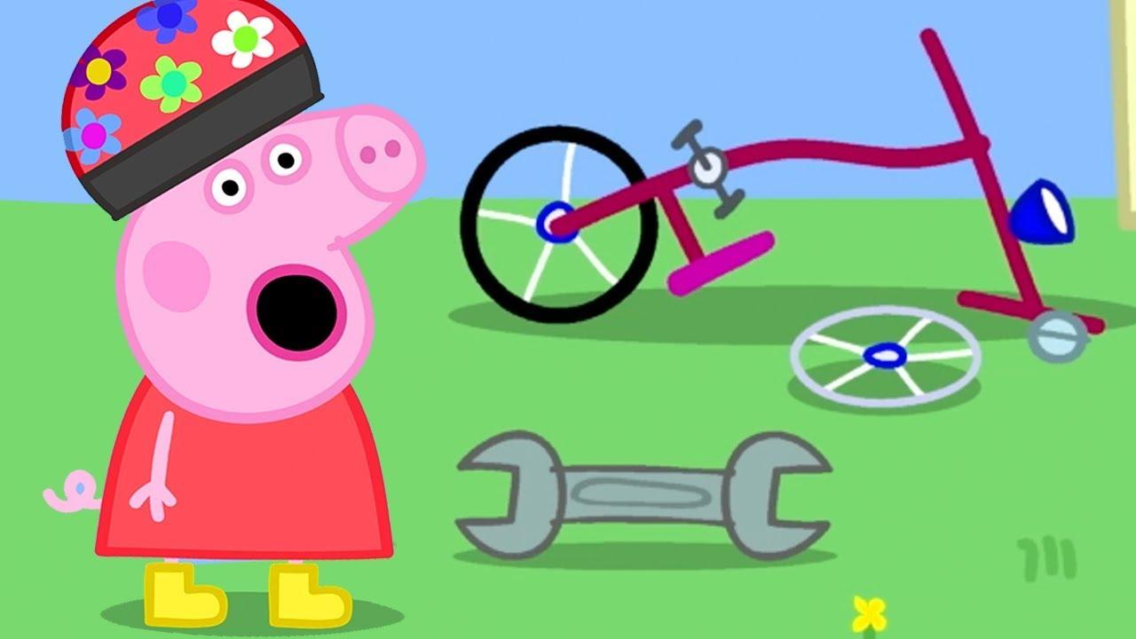 Peppa Pig Official Channel Peppa Pig S Bike Is Broken