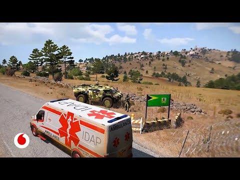 Realidad virtual y videojuegos ayudando a la Cruz Roja en las guerras