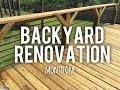 Huge Backyard Renovation - Month One