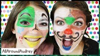 HOLIDAY FACE PAINT CHALLENGE / AllAroundAudrey