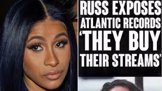 Russ exposes Cardi B39s Label Atlantic Records