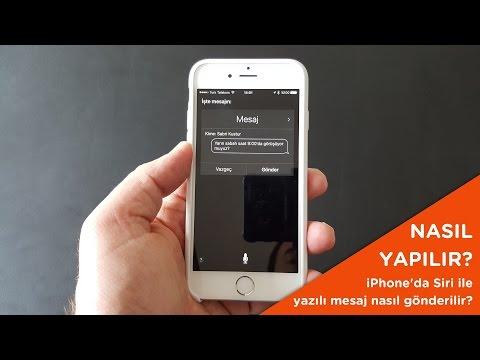 Siri Ile IPhone'da Yazılı Mesaj Nasıl Gönderilir?