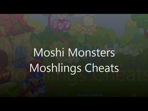 Moshi Monsters Moshlings Cheats - Codes and Secrets