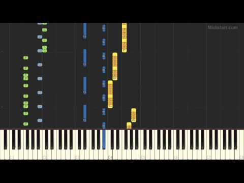 System F - Out of the Blue (Piano Tutorial) [Synthesia Cover]