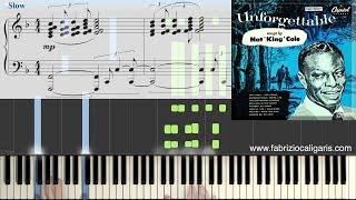 Unforgettable - Piano Tutorial - PDF - MIDI