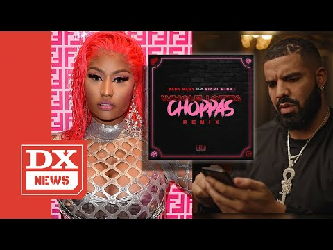 Drake Reacts To Nicki Minaj Name Dropping His Son On Sada Baby's 'Whole Lotta Choppas' Remix