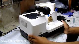 Як biselar об'єктиви з ручною Biseladora 3 П'єдрас лабораторія оптико Е18