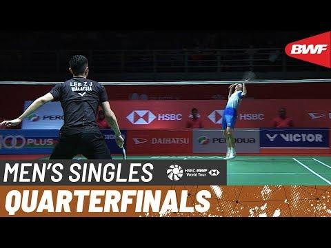 QF | MS | LEE Zii Jia (MAS) vs. SHI Yu Qi (CHN) [7] | BWF 2020