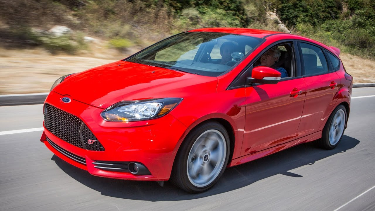 2013 ford focus st jay lenos garage youtube - 2014 Ford Focus St Red