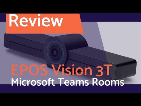 Live Test: EPOS Vision 3t All-in-One Video Konferenz Lösung für Microsoft Teams Rooms auf Android