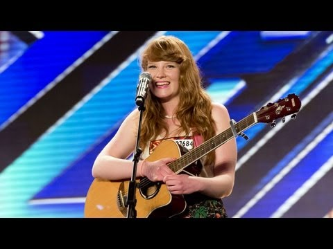 Lauren Smith's audition - Kanye West & Estelle's American Boy - The X Factor UK 2012