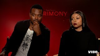 Taraji P. Henson and Lyriq Bent Talk 'Acrimony' Roles And Life Lessons | VIBE