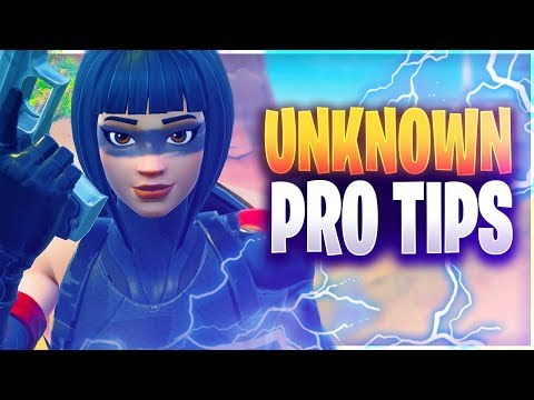 NEW UNKNOWN PRO TIPS TO WIN MORE GAMES! (Fortnite Battle Royale)