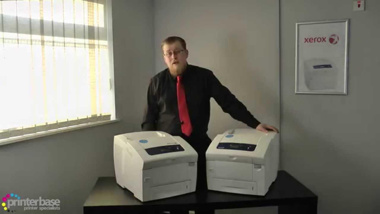 Xerox ColorQube 8570DN - printer - color - solid ink Series Specs