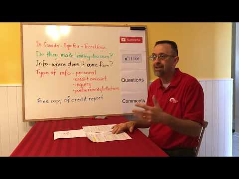 What Is A Credit Bureau? / Equifax / TransUnion (Canada) / Credit Score / Credit Report / CREDIT