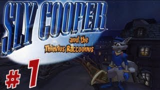 Sly Cooper and the Thievius Raccoonus Walkthrough (HD Collection) - Intro - Part 1