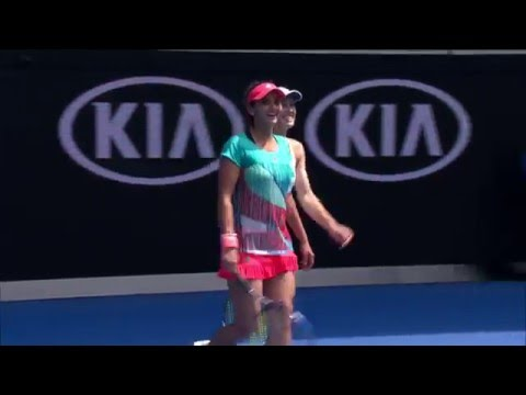Hingis/Mirza v Groenefeld/Vandeweghe highlights (QF) | Australian Open 2016