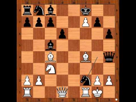 The King Hunt:  Charousek vs  Wollner - 1893