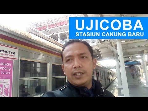 UJICOBA STASIUN CAKUNG BARU (Terbaru) | 9 Oktober 2018