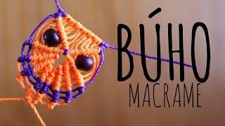 Repeat youtube video Búho de macramé ♥︎ macrame tutorial | como hacer | how to