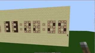 12 or 24 Hour Digital Clock [Minecraft Showcase] + download