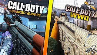 1 Match of Advanced Warfare and 1 Match of WW2...