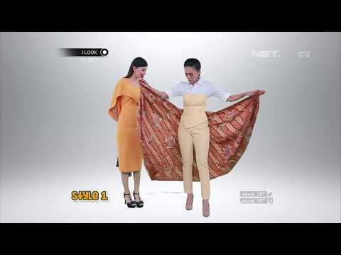 I'Look-3 Ways To Wear Kain Batik