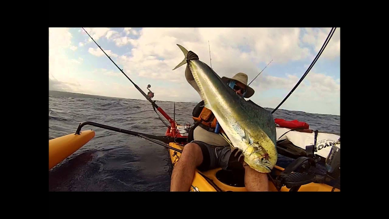 Hobie ai kayak fishing oahu hawaii youtube for Kayak fishing hawaii
