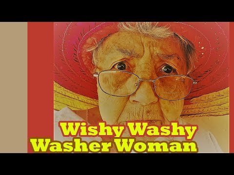 Wishy Washy Washer Woman | nursery rhyme with fun and easy learning lyric