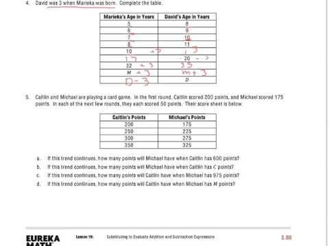 Eureka Math Grade 6 Module 4 Lesson 19 Answer Key