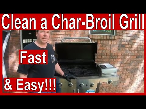 How to Clean a Char-Broil Infrared Grill - Fast and Easy