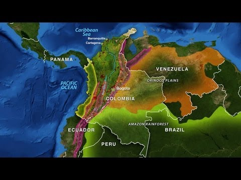 Colombia's Geographic Challenge