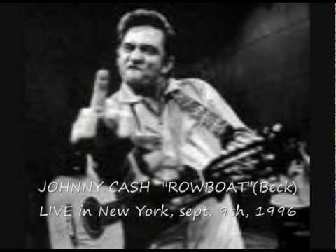JOHNNY CASH 'ROWBOAT' LIVE in NewYork,sept.9th,1996.avi