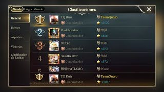 TOP 1 EU : RUIZ (1080STARS)
