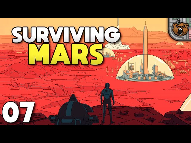 Sonhando com asteroides - Surviving Mars #07 | Gameplay 4k PT-BR