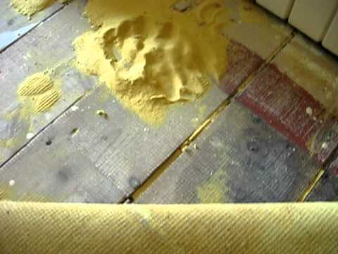 carpet underlay - YouTube
