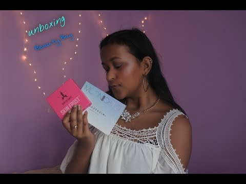 unboxing Beauty Bay - Jeffree Star & Anastasia Beverly Hills