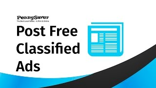 Post Free Classified Ads - Pennysaver